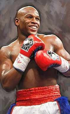 Floyd Mayweather Jr. - Going to need to get a portrait of this man for our Naming-Cave.