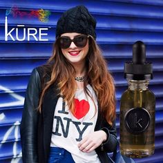 Get cheesy with our new #ejuice flavor, NY Cheesecake, now at any KURE Vaporium & Lounge.