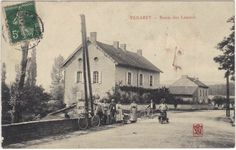 Venarey. Route des Laumes.