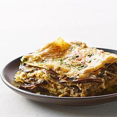 Mushroom and Fresh Herb Lasagna | MyRecipes.com