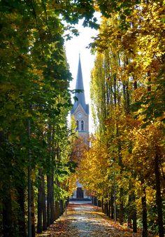 Máriaremete Church Park, Budapest, Hungary