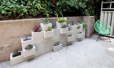 Build Charming Creations From Simple Cement Blocks