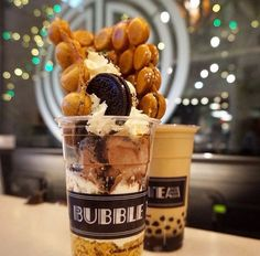 #Repost from @vancityhype Heaven in a cup. The Oreo cream cheese bubble waffle with parfait from @thebbtshop #vancityhype @deannawoo  Are you in  LOVE ? - tag a friend and drool together!