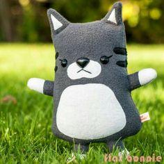 Happy Caturday! Custom cat plush now available.