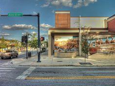 New Port Richey Bank Street by Brazilfox, via Flickr