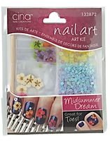Thumbnail Image of Cina Midsummer Dream Nail Art Decal Kit Acrylic Nail Supplies, Midsummer Dream, Glittery Nails, Nail Jewelry, Sally Beauty, Nail Supply, Dream Nails, Kit, Nail Tools