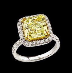 i love canary diamonds