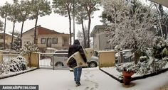 Going to surf with the snow...