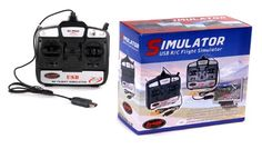 New RC Tech 6 CH Flight Simulator Remote Control w Software for Helicopters Airplanes -- You can get additional details at the image link.Note:It is affiliate link to Amazon.