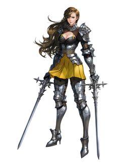 ArtStation - knight, Ye-lim Chae