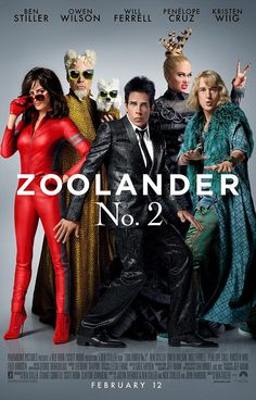 Long time no Z: The sequel's script is written by Jennifer Aniston's husband Justin Theroux and features a whole host of professional actors - including Will Ferrell, Kristen Wiig and Benedict Cumberbatch - while some unlikely names have been drafted in - from both Kanye West and Kim Kardashian to Miley Cyrus - to play small parts as well as cameos