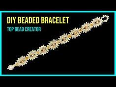 Fantasy bracelet, How to make beaded jewelry. - YouTube