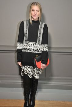 """Model Dree Hemingway has discussed her personal sense of style, explaining that she is a """"tomboy"""" and also loves to dress in relaxed denim for a date. Tomboy Fashion, Tomboy Style, Dree Hemingway, Kendall Jenner, Front Row, Chloe, Ready To Wear, Celebs, Street Style"""