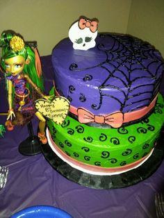 Sammie's Monster High Birthday Cake