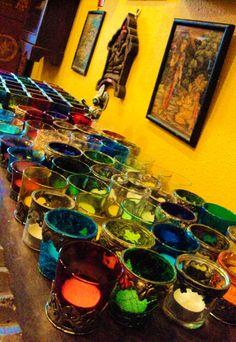 Colourful-votives-Durga-Interiors.jpg 400×581 pixels