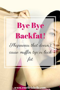 Eliminate back fat and muffin top with Hookedup Shapewear!