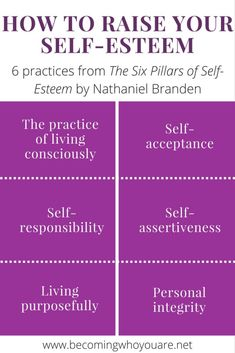 The 6 Practices That Will Raise Your Self-Esteem