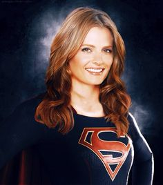 "Stana Katic ""Supergirl"""