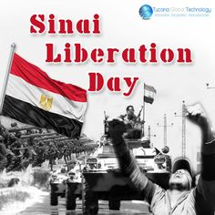 Happy #Sinai #LiberationDay in #Egypt