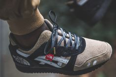 "ASICS Meets The North Face on ""The Apex"" GEL-Lyte III Custom 