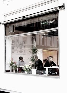 Yam Thai shopfront - Antwerp