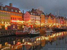 Christmas in Nyhavn in Copenhagen. A beautiful city filled with gorgeous people.