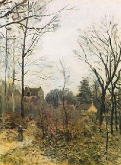 L'automne à Louveciennes (1873)