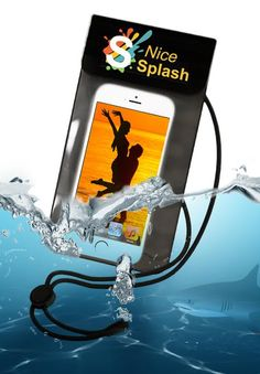 Size up to iPhone 6 NiceSplash waterproof phone case. Available from Amazon. Keeps your phone dry, check it out, its awesome. AMAZON USA