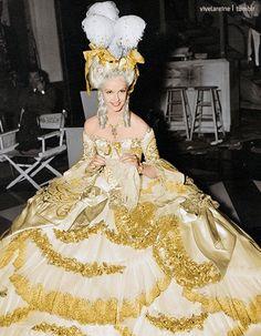 vivelareine:Anita Louise as the princesse de Lamballe in Marie Antoinette (1938) (Colorized)