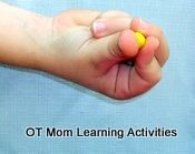 Improving fine motor skills for older kids. Using modelling clay for fine motor skills