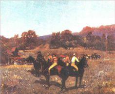 The Last Autumn Race - Stefan Luchian Art Database, Impressionism, Dolores Park, Racing, Autumn, Art Prints, Couple Photos, Painters, Facebook