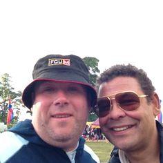 Me and Craig Charles