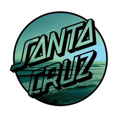 "Santa Cruz Homebreak Sticker Santa Cruz Homebreak vinyl printed decal. Available in 3"" or 6"" round"
