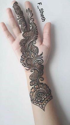 51 new ideas arabian bridal henna mehndi designs Henna Hand Designs, Mehndi Designs Finger, Latest Arabic Mehndi Designs, Full Hand Mehndi Designs, Mehndi Designs For Girls, Mehndi Designs For Beginners, Mehndi Design Photos, Wedding Mehndi Designs, Mehndi Designs For Fingers