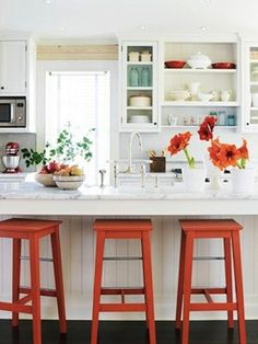 Seasonal Color Inspiration: Orange Dining Chairs | Apartment Therapy