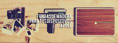 IUBUD.com Fundas de madera personalizables para tus dispositivos Apple. ¿Tienes madera?