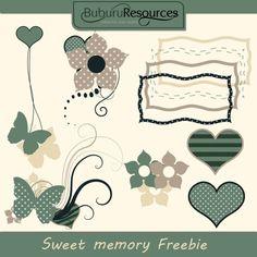 Sweet memory - free illustrations by BuburuResources.deviantart.com