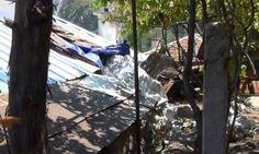 Скала падна върху къща в Кричим