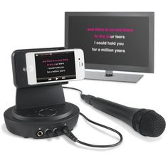 The iPhone To Television Karaoke Player