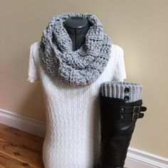 A personal favorite from my Etsy shop https://www.etsy.com/listing/462149310/ready-to-ship-boot-cuffs-with-infinity