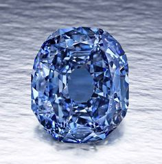 Wittelsbach-Graff Diamond. 35.56 carats (7.11 g), Fancy Deep Grayish Blue, antique oval stellar brilliant cut - was recut! Sold at Christie's, London, December 10, 2008 for twenty three million to Lawrence Graff, currently the second highest price ever paid for a diamond at auction