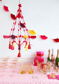 Folk Tassel Chandelier | Oh Happy Day!
