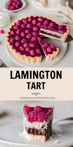Vegan Baking Recipes, Tart Recipes, Dairy Free Recipes, Healthy Baking, Raw Food Recipes, Sweet Recipes, Dessert Recipes, Vegan Tarts, Vegan Pie