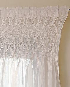 smocked curtain tutorial (like the ones in  the PB catalog)