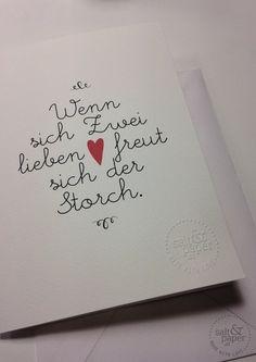 Wenn sich Zwei lieben .. - Postkarten