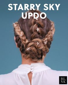 : The Starry Sky Updo Tutorial hairtutorial braids summerha. The Starry Sky Updo Tutorial hairtutorial braids summerhairstyles The Starry Sky Updo Tutorial hairtutorial braids summerhairstyles africanhairstyle hairstyleformediumlengthhair hairstyleme Updo Tutorial, Summer Hairstyles, Braided Hairstyles, Cool Hairstyles, Wedding Hairstyles Tutorial, Hair Videos, Hair Designs, Hair Hacks, Hair Inspiration