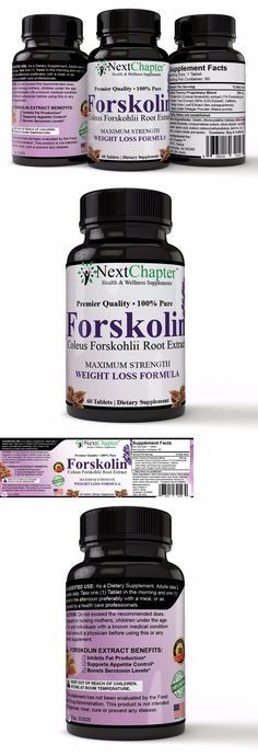 Weight Loss Supplements: Forskolin Pure Supplement – Highest Grade And Powerful Antioxidant, Weight Loss BUY IT NOW ONLY: $54.95
