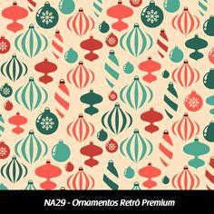 Cód. NA29 - Ornamentos Retrô Premium