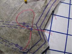 Make Your Mark: How to Use Tailor's Tacks for Pattern Marking