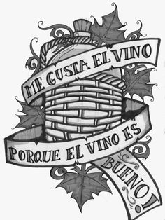 Me gusta el vino!